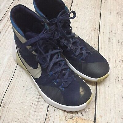 07a1145e4dd5 NIKE MENS HYPERDUNK 2015 TB Basketball Shoe 749885 405 Blue White SZ ...