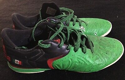 cd3261e6bf8 Adidas X 15.2 Men s Size 10 Court Mexico Flag Indoor Soccer Shoes Red    Green