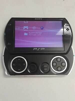 Sony PSP go Launch Edition 16GB Piano Black Handheld System (PSP-N1001)