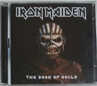 CD IRON MAIDEN - THE BOOK OF SOULS neuf sous blister