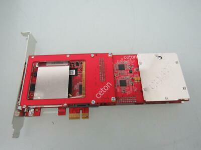 2 X Ceton 5101-DCT04IN InfiniTV 4 PCIe Cable Card TV Tuner