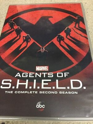 Marvel Agents Of S.h.i.e.l.d. The Complete Second Season Dvd Marvel's Shield New