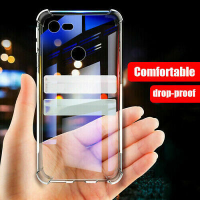 For Google Pixel 3a/ 3a XL Ultra Soft TPU Clear Silicone Shockproof Case Cover