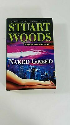 Naked Greed by Stuart Woods large print edition