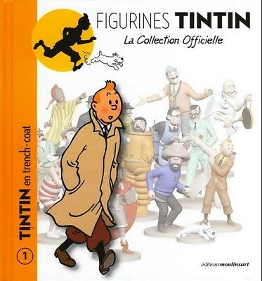 RARE-COLLECTION OFFICIELLE des figurines TINTIN- COMPLETE 120 figurines & livres