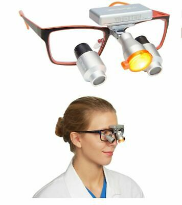 Wireless CORDLESS LED DENTAL / MEDICAL BUTTERFLY HEADLIGHT for loupes - light