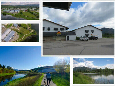 1.5 acres Prime Waterfront Commercial Property For Sale in British Columbia, Ca