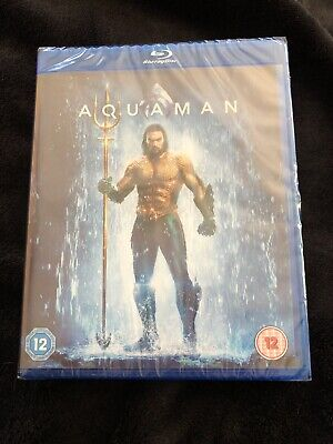 Aquaman Blu Ray (brand New Sealed)