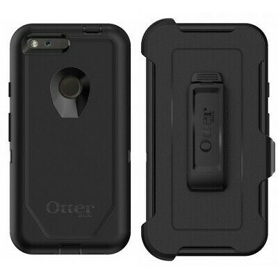 "New OtterBox Defender Series Case for Google 1st Gen Pixel XL 5.5"" - Black"