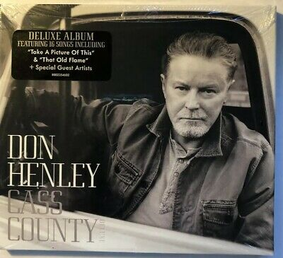 Don Henley - Cass County [Deluxe Edition] New Cd! Sealed