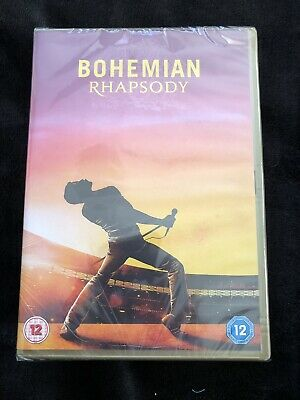 bohemian rhapsody dvd (brand New Sealed)