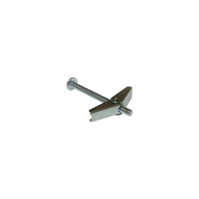 Pack of 50 Metallics J1551 Combo-Head Spring Wing Toggle Bolts