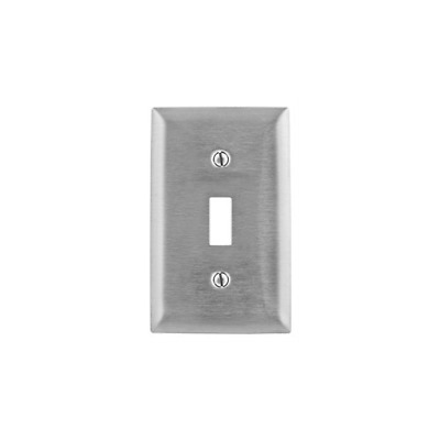 LIGHTOLIER COMFP1-AL SCREWLESS 1 GANG ALMOND SWITCH PLATE COVER