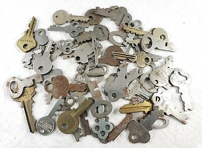 Large lot of Misc Vintage - Antique Keys - Various Ages, Makers, Uses