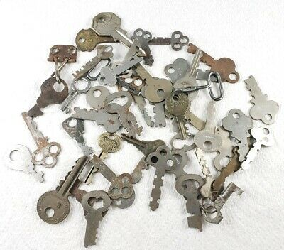 Lot of Misc Vintage- Antique Keys - Various Ages, Makers, Uses