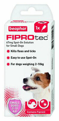 Beaphar Fiprotec Dog Flea & Tick Spot-On Treatment (Removal & Prevention)