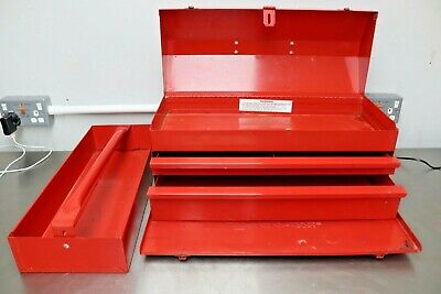 SNAP ON KRA-21F Classic metal toolbox chest mobile vintage tool tray tote