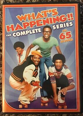 Whats Happening - The Complete Series (DVD, 2015) In Excellent Condition!!!