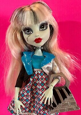 MONSTER HIGH Doll FRANKIE STEIN Mattel DELUXE FASHION Outfits SHOES Jacket PURSE