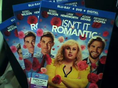 Isnt It Romantic (Blu Ray) Bluray Only - Opened - Unwatched Bluray - Ships Now