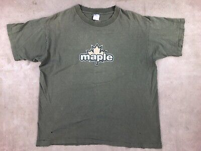 01ce229dfaa2 90s XL Vintage Maple Skateboards T Shirt USA Black Cat Chad Knight Hsu Skate  Sk8