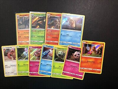 Pokemon Detective Pikachu Movie Lot X11 Cards! Rare Holo Arcanine Card! NM/Mint!