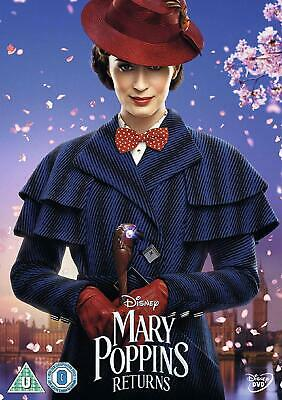 MARY POPPINS PART 2 RETURNS DVD EMILY BLUNT Original UK Movie + Sing Along Ed.