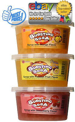 Bursting Popping Boba 3 Flavor Fun Pack *BEST DEALS IN USA*
