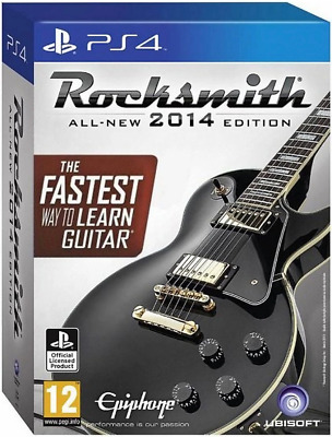 Rocksmith - 2014 Edition with Real Tone Cable PS4 (Sony PlayStation 4) Brand New