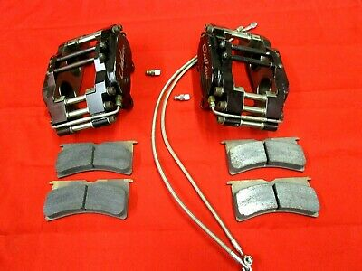 Set Of Outlaw Billet  Directional  Brake Calipers ,Pads ,Hoses