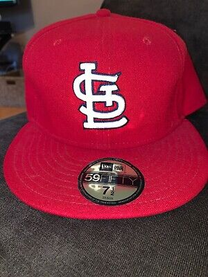 huge discount 18a65 d660f New Era St. Louis Cardinals GAME 59Fifty Fitted Hat (Red) MLB Cap