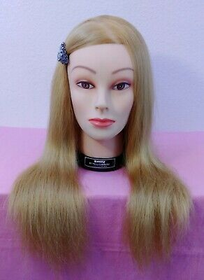 1970's Cosmetology/Display Mannequin with Long Blonde Hair; EXCELLENT TO MINT