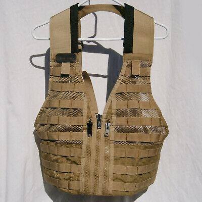 Safariland Protech Tactical PG0007 Super FLC MOLLE Vest Coyote Tan SDS Military