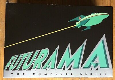 FUTURAMA The Complete Series Collection 23-Disc DVD Set Seasons 1-8 + 4 Movies
