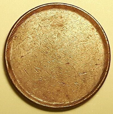 BLANK Planchet 1 Cent Penny 2.43 grams non-magnetic #241