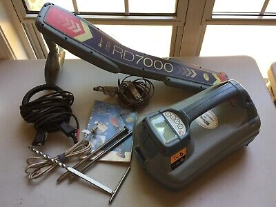 Radiodetection RD7000 Underground Utility Cable Pipe Locator Inc. Tx-5