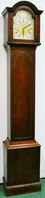 Antique English 8 Day Musical Westminster Chime Longcase Grandmother Clock