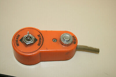SEEBURG Remote Volume control & reject cancel switch, used unit VGC