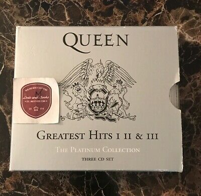 Queen: Greatest Hits- I, II & III [The Platinum Collection Box Set]  (CD, 2002)