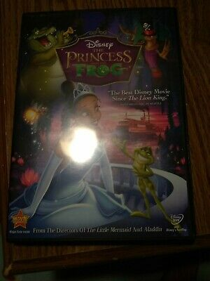 The Princess and the Frog (DVD, 2010)
