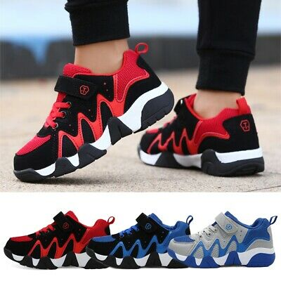 Kids Boys Sneakers Comfortable Casual Sports Trainers Athletic Youths Shoes Blue