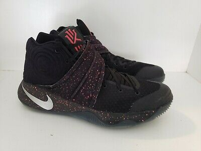 new products fb6bd 35996 Nike Kyrie 2 Black Red Speckle 819583-006 Mens Basketball Shoes Size 10