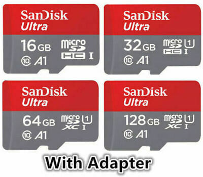 Sandisk 16GB 32GB 64GB 128GB Micro SD Class 10 Flash Memory Card microSD SDHC