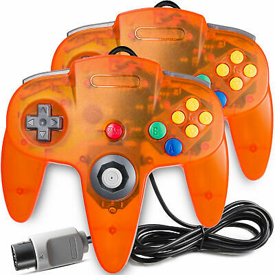 Classic Controller Gamepad Joystick Long Wired for N64 Vedio Game Console