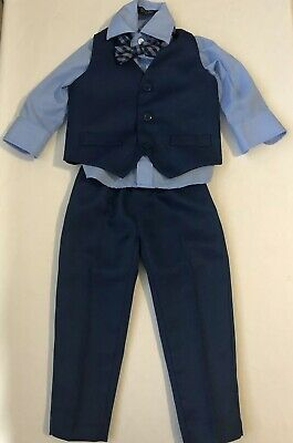 Gino Lussari toddler boy suit 12 months Four Piece Multi Color