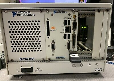 National Instruments NI PXI-1031  With  PXI-8196 Controller Windows XP Labview