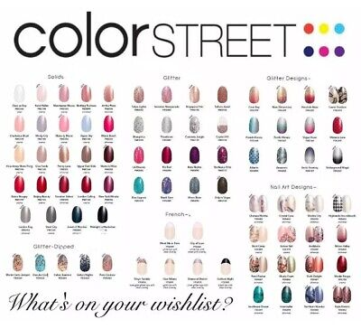 Color Street Nail Polish Strips Buy 3 Get 1 Free & Free Shipping