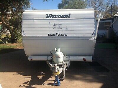 Caravan 1982 Viscount Grand Tourer Pop Top 16ft