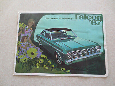 Original 1967 Ford Falcon advertising booklet