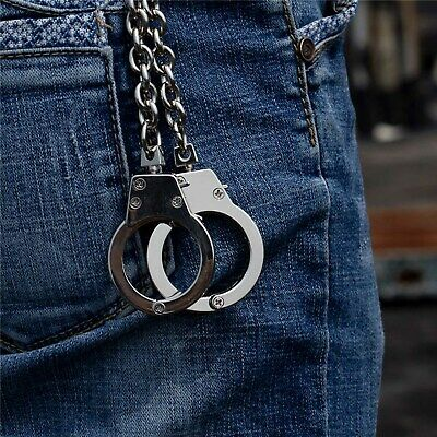 Men Biker Trucker Hip Hop Clasp Clip Buckle Metal Keychain Key Jean Wallet Chain